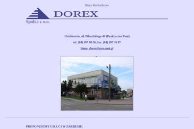 DOREX Biuro Rachunkowe - Usługi finansowe Hrubieszów