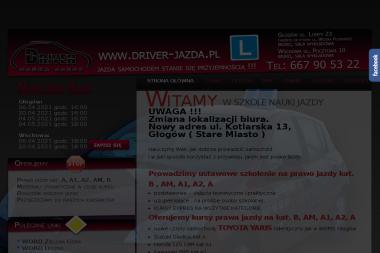 DRIVER Nauka Jazdy-Głogów - Szkoła Nauki Jazdy Głogów