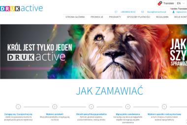 DRUK ACTIVE - Ulotki Olsztyn