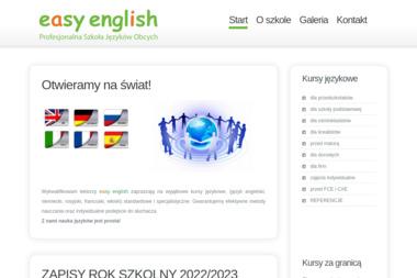 EASY ENGLISH - Kurs rosyjskiego Radom