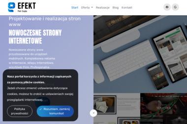 EFEKT - Reklama i strony internetowe - Strony internetowe Ełk