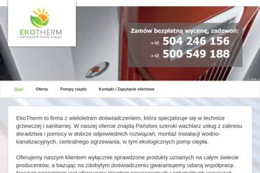 EKOTHERM - Kolektory słoneczne Kędzierzyn-Koźle