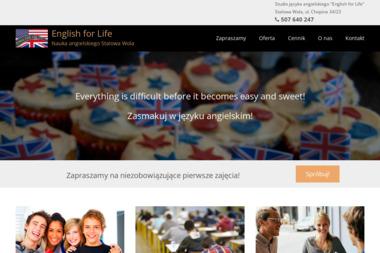 English for Life - Nauczyciele angielskiego Stalowa Wola