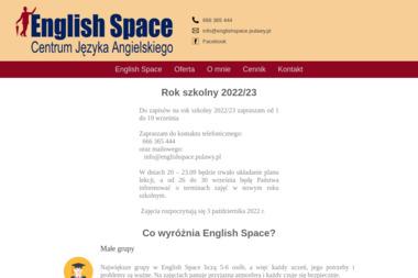 English Space - Język Angielski Puławy
