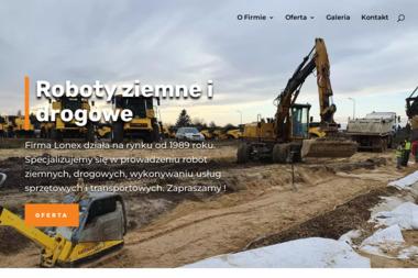 LONEX - Roboty ziemne i drogowe - Odśnieżanie dachów Płock