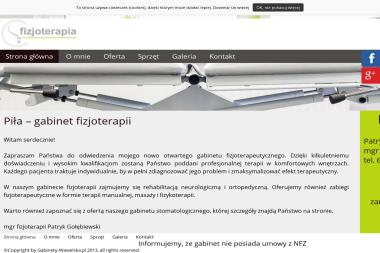 Stomatologia Fizjoterapia Gołębiewscy - Akupunktura Piła