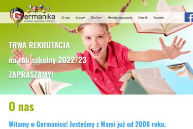 Germanika – Szkoła Języków Obcych - Lekcje Angielskiego Grodzisk Mazowiecki