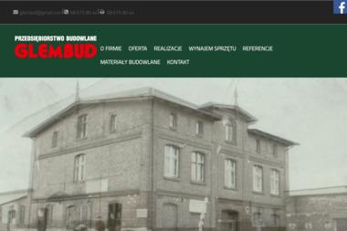 """Przedsiębiorstwo Budowlane  """"GLEMBUD"""" - Zbrojarz Łebcz"""