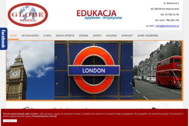 GLOBE SCHOOL - Szkoła językowa Mińsk Mazowiecki