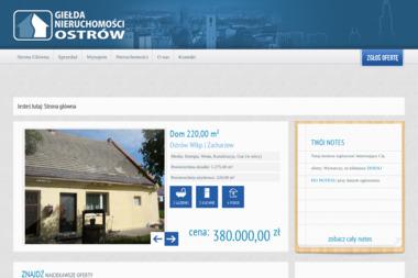 Giełda Nieruchomości OSTRÓW - Agencja nieruchomości Ostrów Wielkopolski