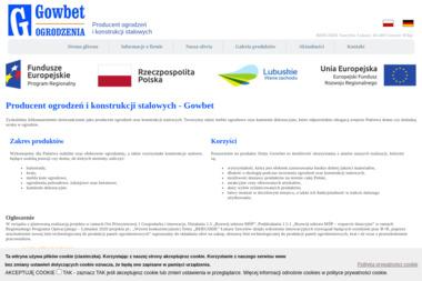 """""""BERGSIDE"""" / """"GOWBET"""" - Firma Ogrodzeniowa Deszczno"""