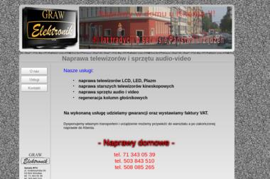 GRAW Elektronik - Serwis RTV Wrocław