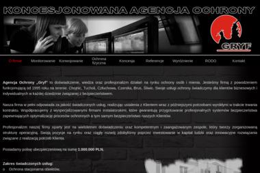 "KONCESJONOWANA AGENCJA OCHRONY ""GRYF"" - Agencja ochrony Chojnice"