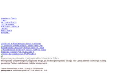 Hell Gym - Centrum Sportowe Hades - Trener Personalny Rzeszów