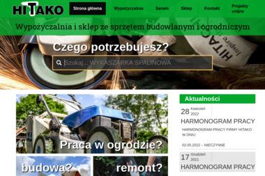 Hitako - Wypożyczalnia sprzętu budowlanego - Wynajem Zaplecza Budowlanego Białystok