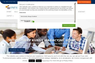 Szkoła Języków Obcych INFINITY - Kurs niemieckiego Kraków