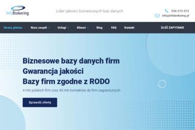Infobrokering - Copywriter Gdańsk