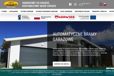 P.P.H.U JARMEX - Bramy Garażowe Rolowane Radom