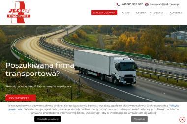 Jedut Transport - Firma transportowa Polkowice