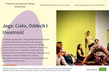 Pracownia Jogi Agnieszki i Macieja Wielobobów - Fizjoterapeuta Kraków