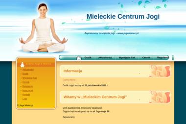 Mieleckie Centrum Jogi - Joga Mielec
