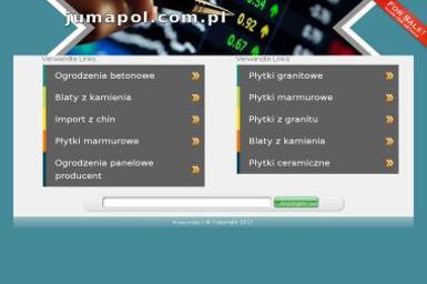 Przedsiębiorstwo Wielobranżowe Jumapol Sp. z o.o. - Kamieniarstwo Fabianki
