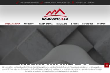 Kalinowski & CO - Budowanie Pisz
