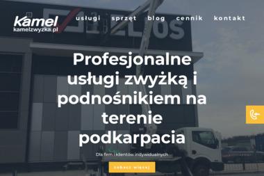 """""""Kamel"""" Usługi Zwyżką - Prace wysokościowe Bojanów"""