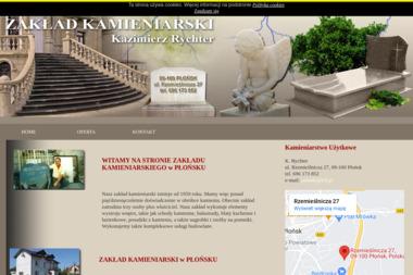 Kamieniarstwo  K. Rychter - Nawierzchnia Betonowa Płońsk