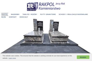 RAKPOL - Nagrobki - Schody Tomaszów Lubelski