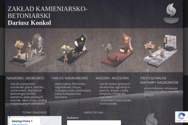 ZAKŁAD KAMIENIARSKO - BETONIARSKI - Schody kamienne Słupsk