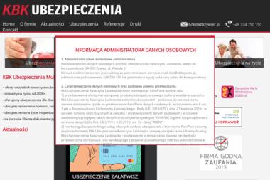 KBK MultiAgencja Ubezpieczeniowa - Ubezpieczenie firmy Żywiec