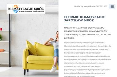 KLIMATYZACJE - Jarosław Mróz - Klimatyzacja ŻORY