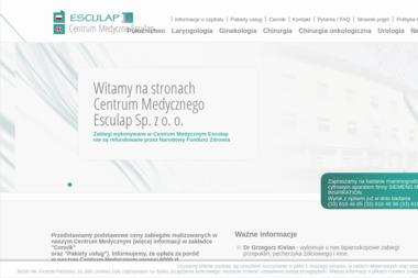 """Centrum Medyczne """"Esculap"""" - Prywatne kliniki Bielsko-Biała"""