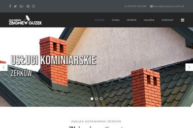Zakład Kominiarski Zbigniew Guzek - Chemiczne Czyszczenie Komina Żerków