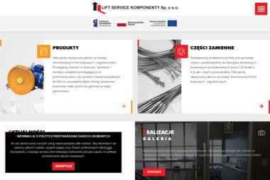 Lift Service Komponenty Sp. z o.o. - Dostawcy maszyn i urządzeń Lublin