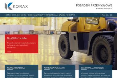 Korax Polska Sp. z o.o. - Posadzki betonowe Pyskowice