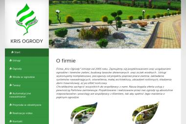 Kris-Ogrody - Projektowanie ogrodów Rzeszów