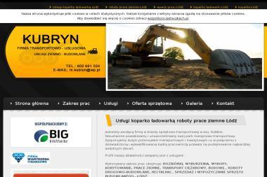 KUBRYN - Sprzedaż Maszyn Budowlanych Łódź