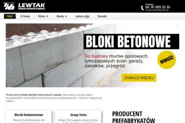 Zakład Wyrobów Betonowych Lewtak S.C. - Schody Lubartów
