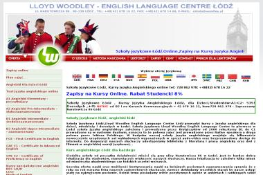 Lloyd Woodley - Język Angielski Łódź