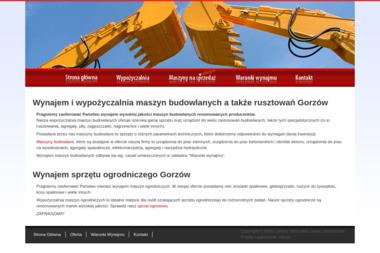 LuRent - Maszyny budowlane Gorzów Wielkopolski