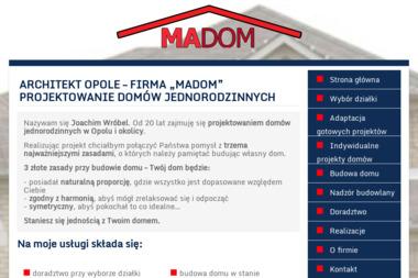 """""""Madom"""" Joachim Wróbel - Nadzór budowlany Luboszyce"""