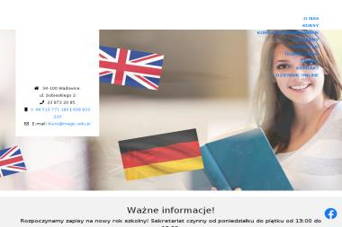 """Szkoła językowa """"MAGIC"""" - Kurs niemieckiego Wadowice"""