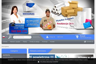 MANDRAS - Opakowania Łódź