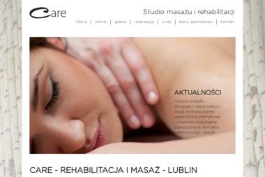 Care Studio Masażu i Rehabilitacji - Salon Masażu Lublin