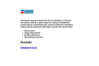MAYYER Grzegorz Majcher - Agencja interaktywna Stalowa Wola