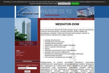 Biuro Nieruchomości MEDIATOR-DOM - Agencja nieruchomości Zamość