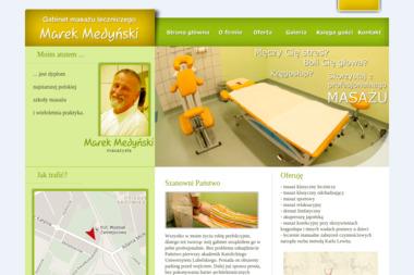Gabinet masażu Marek Medyński - Masaż Gorącymi Kamieniami Stalowa Wola