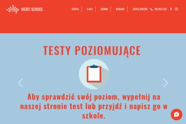 MERIT SCHOOL - Nauka Angielskiego Żyrardów